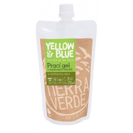 Tierra Verde (Yellow&Blue) Prací gel s vavřínem 250ml