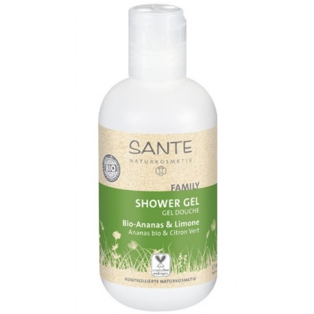 SANTE Family Sprchový gel Bio Ananas & Citron 200ml