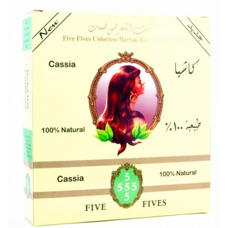 Henna Five Fives Cassia (zábal) 100g