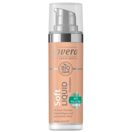 Lavera Lehký tekutý make-up - 03 medová - 30ml