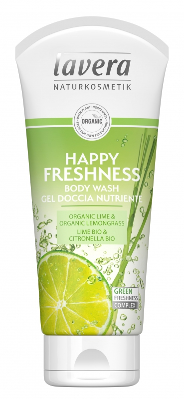 Lavera Sprchový gel  Happy Freshness Bio - 200ml