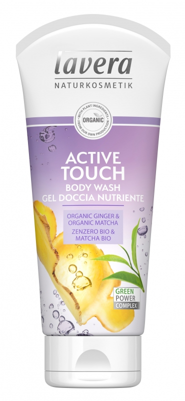 Lavera Sprchový gel Active Touch Bio - 200ml